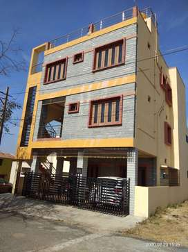 Semi furnished modern 2 BHK house with separate solar, parking, balcon