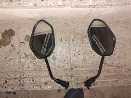 3 pairs of mirrors