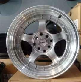 Velg racing bisa buat mobil Xenia Datsun go Vios R15-8/9 h8-100/114.3