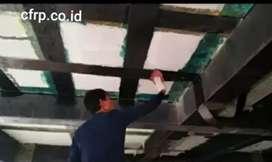 Aplikator carbon wrapping, patching, injeksi beton, estopatch estorex