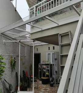 Canopy solarflat dan kanopi kaca #355
