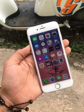 Iphone 6 32gb ibox lengkap mulus fulshet sudah ada antigores