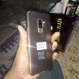 S9plus 1month old 6 gb128