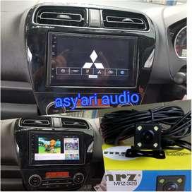 For MIRAGE dobledin android 7in + kamera + frame (Asy'ari audio)