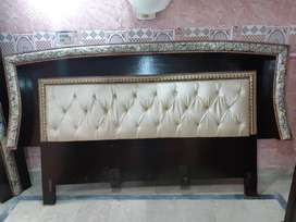 Complete Bed Set with Dressing and Showcase Newly Polished.