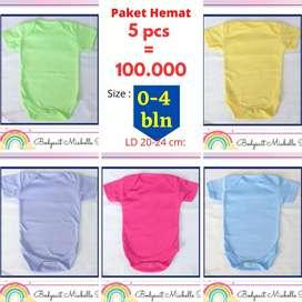 Baju bayi paket hemat