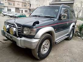 Pajero turbo Intercooler2800 lush condition karak number automatic..