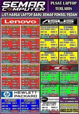 Laptop baru banyak promo
