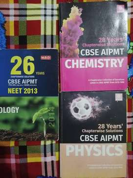 NEET old question book physics chemistry biology