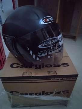 Helm Cargloss hitam doff ori