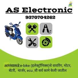 All types Electronics e -bike repair