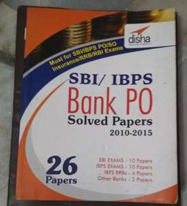 SBI/IBPS PO/SO Previous years solved papers