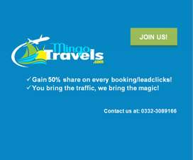 Offer for travel Agencies
