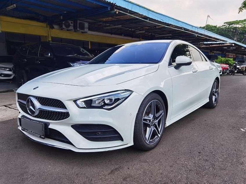 Mercedes Benz CLA200 2019 AMG Putih Newmodel km7000 Istimewa