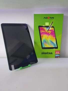 Tab Advan sketsa (free flip cover)