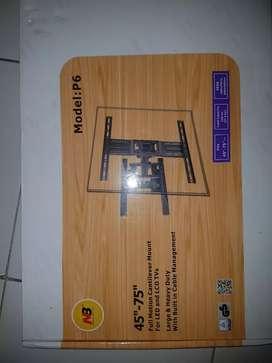 bracket tv/monitor fullmotion ,large& heavy duty NB model p6