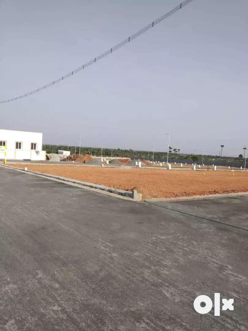 Dtcp Gated community villa plot Direct Sale 0