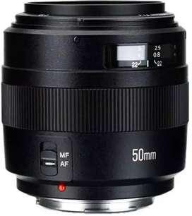 YN50mm F/1.4 Prime lens for Canon EF mount