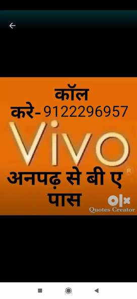 Now joining in vivo mobile phone company pvt ltd