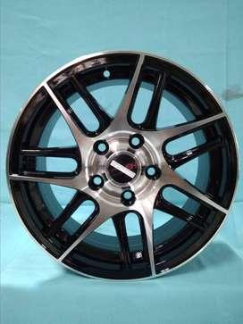 Jual Velg Mobil Black Polish Ring 15 Modifikasi Suzuki APV