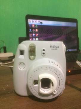 Dijual Kamera Instax Mini 9 Smoky White