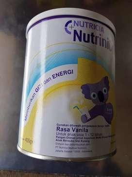 Susu rasa vanila @400 gram untuk anak usia 1 s/d 12 tahun-BPOM-baru