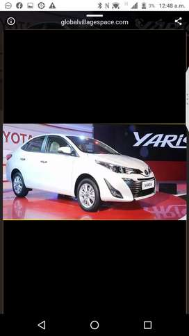 Zero meter yaris for sale