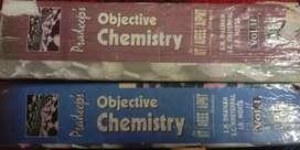 Pradeep's objective chemistry( vol 1 and vol 2)