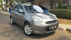 (TDP 15 JT-ANGS 2,1JT) Nissan March 1.2 L AT 2011 Abu-Abu Terawat