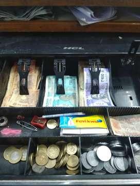 HCL Cash drawer galaa cash counter