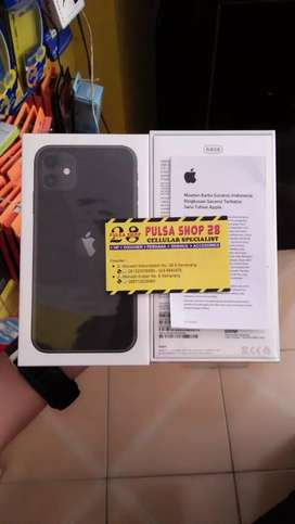 Apple iPhone 11 128GB Black RESMI IBOX