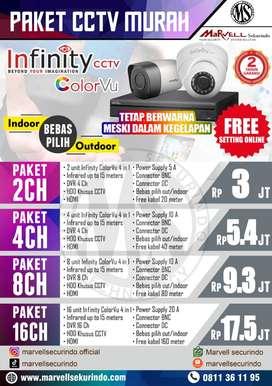 CCTV SIAP ONLINE 24 JAM MERK INFINITY COLORVU