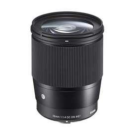 Lensa fix sigma 16mm f1.4 DC DN Contemporary for Sony