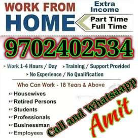 Ghar baithe kamaye 12000 to 48000 weekly and monthly