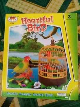 Mainan burung bisa bunyi bisa buat kado pakai batrai kecil 4