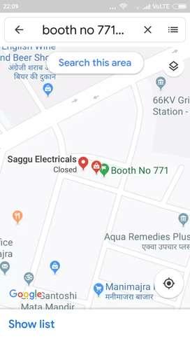 771 booth manimajra motor market Chandigarh