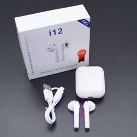 Original I12 Upgraded Touch Control Wireless Earphone Airpods