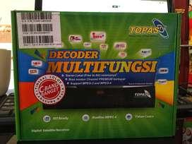 Receiver Topas tv free all channel premium 12 bulan gaes