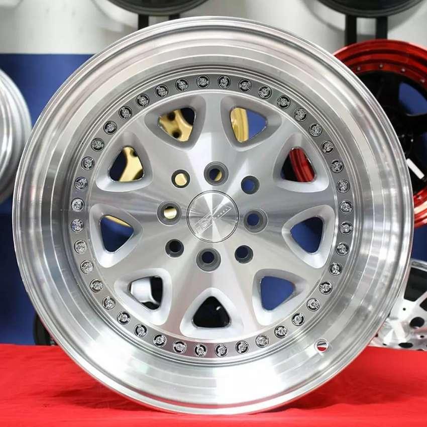 Jual velg racing HSR Ring 16 Buat mobil avanza, xenia, jaaz 0