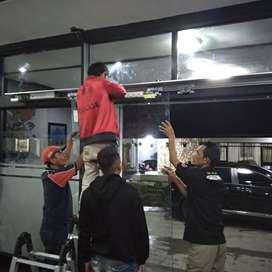 pintu kaca otomatis sliding kaca Kota Bandung