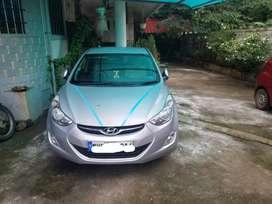 Hyundai Elantra 2014 Petrol Well Maintained