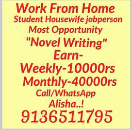 Part time job Extra income from home Mannual Handwriting Work