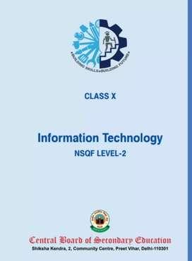 Information technology code 402 (CBSE) class 10