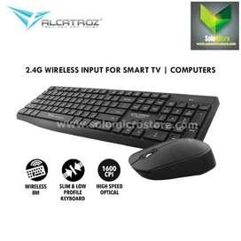 Alcatroz Wireless Combo Keyboard Mouse Xplorer Air 6600 PC/ Laptop