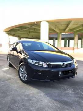 Km 20rban Honda Civic 1.8 AT Fb1 Th 2013 Black Perfecto Condition!!