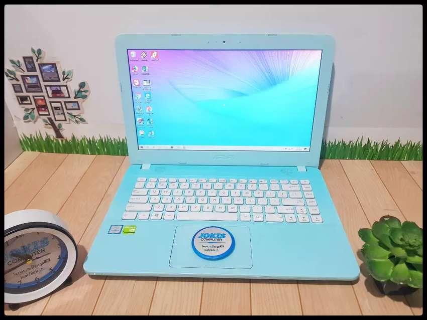 Laptop Asus X441UV Core i3 Skylake Nvidia 920MX Biru 0