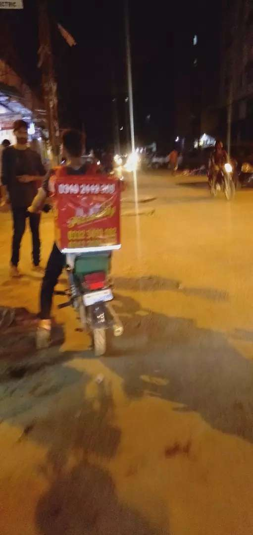Pizza Delivery Rider Required 0