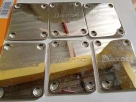 Neck plate ibanez original chrome