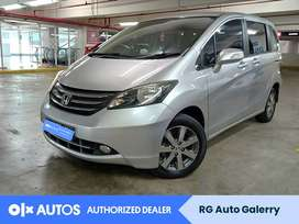 Spesial Unit Honda Freed 1.5 PSD Bensin A/T 2012 Silver