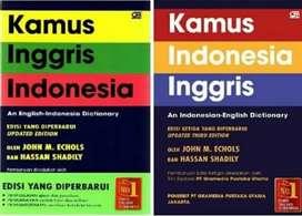 (2pc) Kamus bahasa inggris indonesia & indonesia inggris